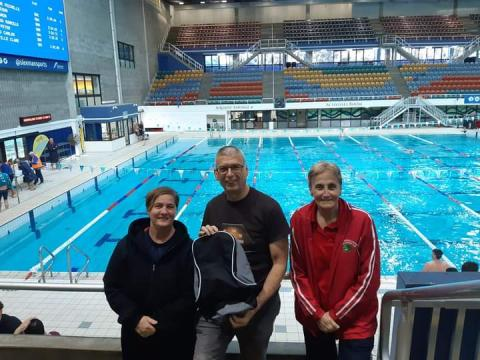 Redcliffe Peninsula Masters Swimming Club at BSM Short Course Meet 19 June 2021